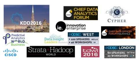 KDnuggets Upcoming Meetings in Analytics, Big Data, Data Mining, Data Science: August and Beyond