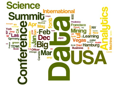 Upcoming Meetings in Analytics, Big Data, Data Mining, Data Science: December 2016 and Beyond