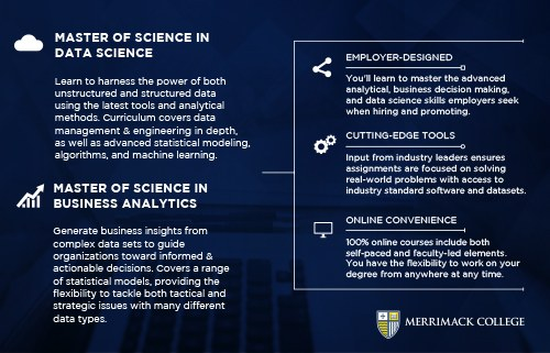 Prepare for Growing Data Field with Merrimack College
