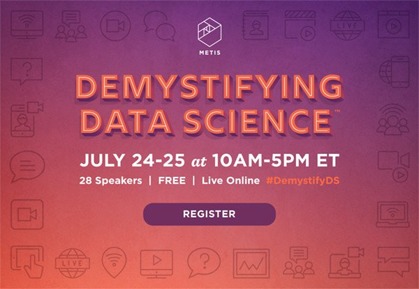 A FREE Live Online Conference For Aspiring Data Scientists & Data-Curious Business Leaders