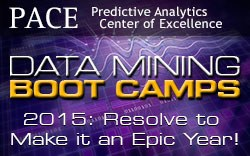 PACE Data Mining Boot Camps: Designed for the Big Data Research Community