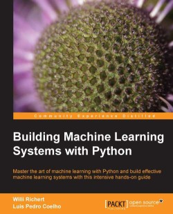 Packt Building Machine Learning Python