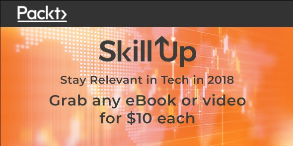 Get Packt Skill Up Developer Skills Report