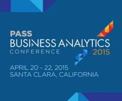 the PASS Business Analytics Conference, Santa Clara, Apr 20-22, 2015
