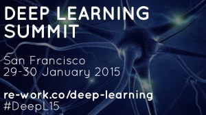 Deep Learning Summit, San Francisco, Jan 29-30