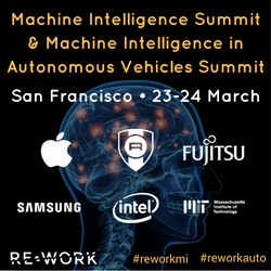Rework Machine Intelligence Summit 2017 March San Francisco