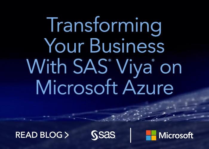Sas Viya Microsoft Azure