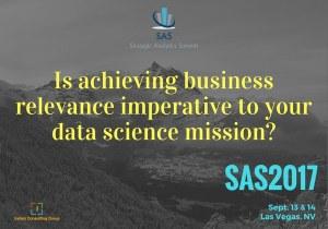 Strategic Analytics Summit, Las Vegas, Sep 13-14 – Offer