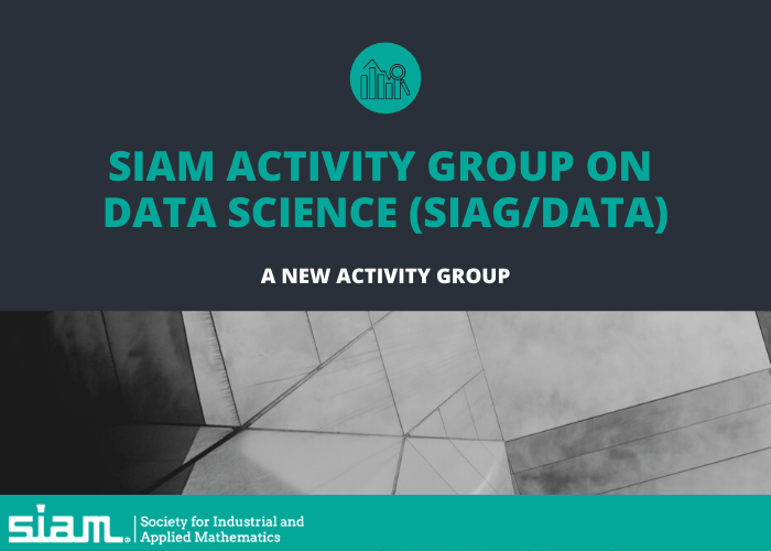 SIAM launches activity group, publications for data scientists