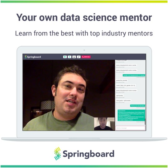Springboard Data Science Mentor