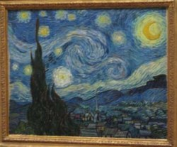 The Starry Night, by Vincent Van Gogh