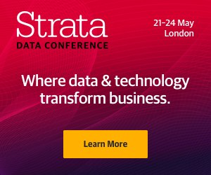 Strata London, where Smart Data Science meets Business Strategy, Offer