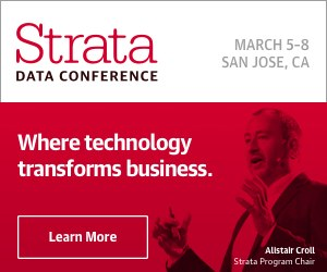 Strata Data Conference, San Jose, Mar 5-8, 2018 – Offer