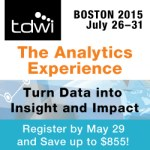 TDWI Boston July 2015