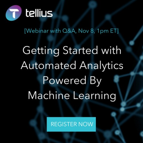 [webinar] Getting Started with Automated Analytics Powered By Machine Learning, Nov 8