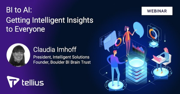 BI to AI: Getting Intelligent Insights to Everyone, Oct 30