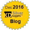 Top KDnuggets Blogger, Silver for Nov 2016