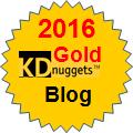 Top KDnuggets Blog 2016 Gold
