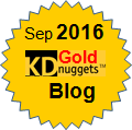 Gold KDnuggets Blog, Sep 2016