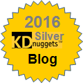 Top Kdnuggets Blog 2016 Silver