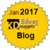 Top KDnuggets Blogger, Silver for Jan 2017