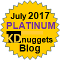 kdnuggets Platinum award