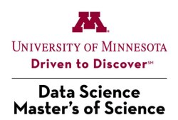 MS in Data Science at U. of Minnesota