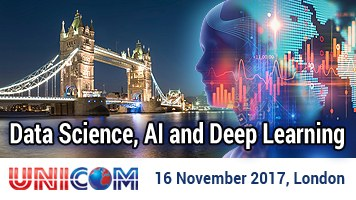 Data Science, AI & Deep Learning Conference – 16 November 2017, London