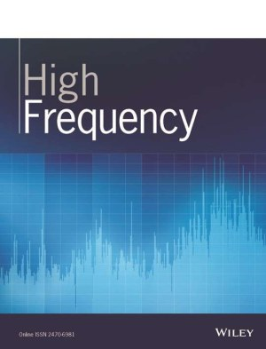 High Frequency, new journal on high-frequency data – submit your research