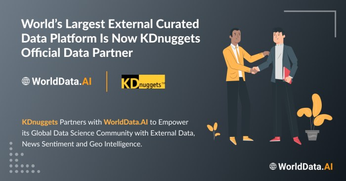WorldData.AI and KDnuggets Partner