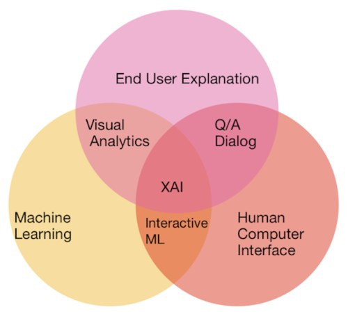 Explainable AI Venn Diagram