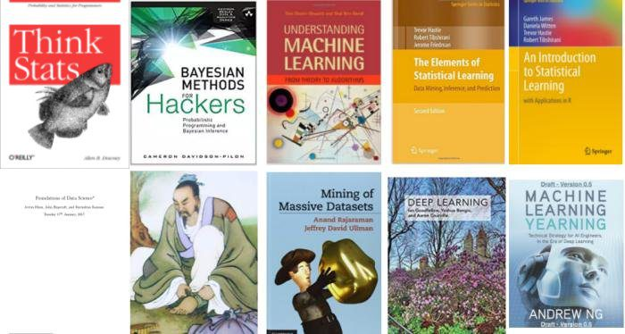 10 Free Must-Read Books for Machine Learning and Data Science