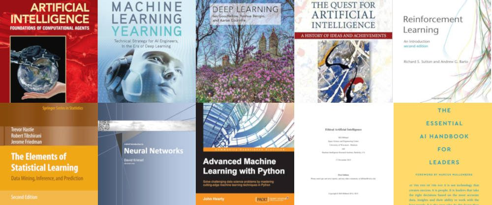 10 Free Must-read Books on AI