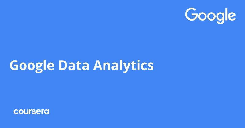 Data Analytics Professional Certificate