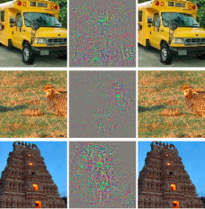 Deep Learning adversarial image