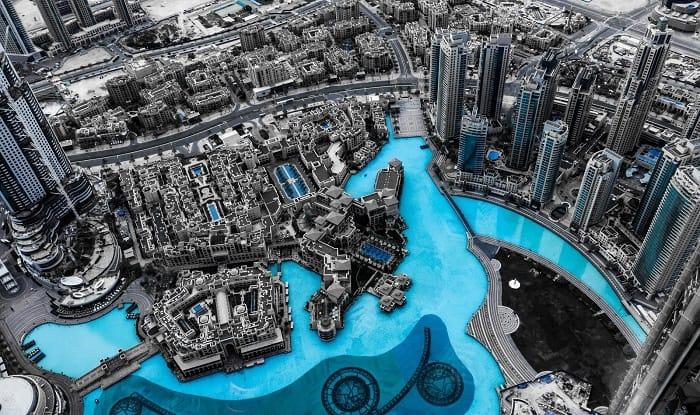 Aerial architecture artificial