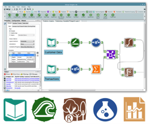 Alteryx screen shot