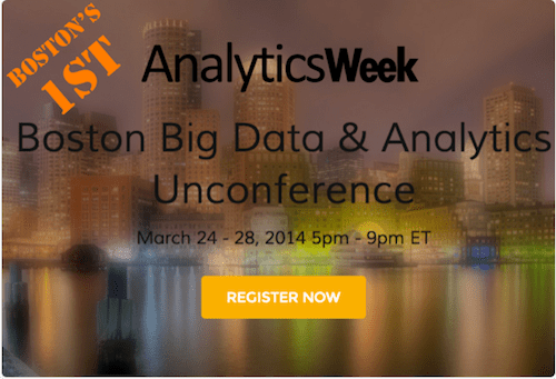 AnalyticsWeek Uncoference Boston
