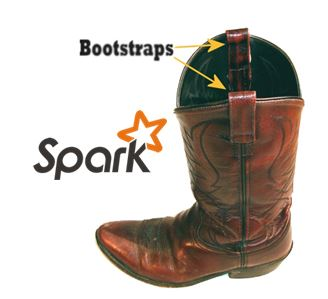 Bootstrap and Apache Spark