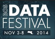 Boston Data Festival, Nov 3-8, 2014
