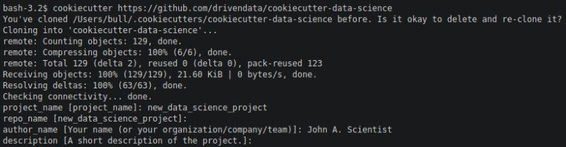 Cookiecutter Data Science: How to Organize Your Data Science