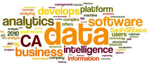 CRn Top 50 Business Analytics Companies, Word cloud