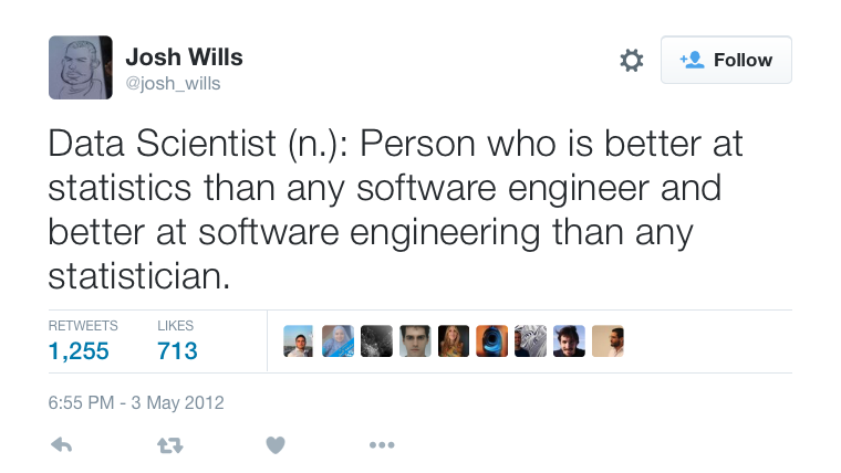 Data Scientist Tweet