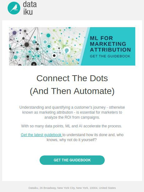 ML Powering Marketing Automation: New Guidebook