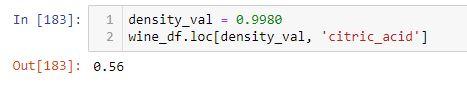 density val