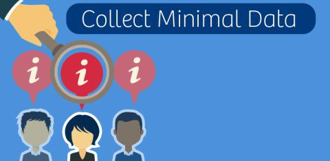 Collect minimal data