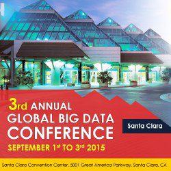 Global Big Data Conference, Santa Clara, Sep 1-3