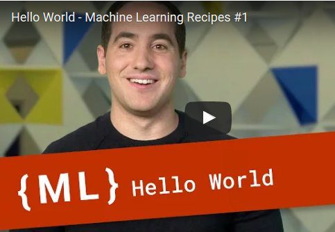 Google ML Recipes