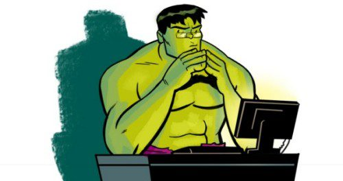 Hulk smash stereotypes of data scientists