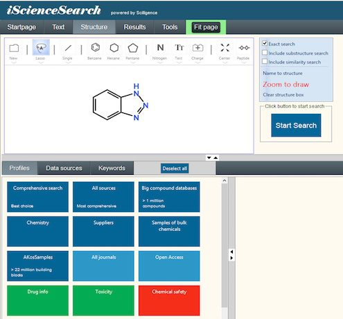 iScienceSearch-chemical-search